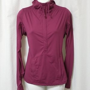 Athleta workout hooded jacket